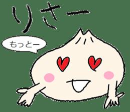 Nikuman-kun talking Finnish sticker #4398692