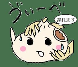 Nikuman-kun talking Finnish sticker #4398693