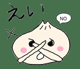 Nikuman-kun talking Finnish sticker #4398695