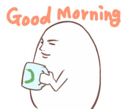 A Good Looking Egg - english ver. sticker #4404393