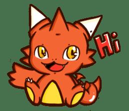 Neryu Dragon-cat sticker #4413152