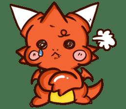 Neryu Dragon-cat sticker #4413156