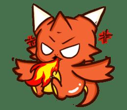 Neryu Dragon-cat sticker #4413157