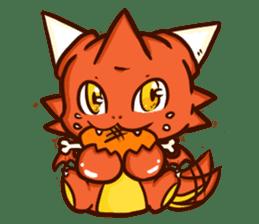 Neryu Dragon-cat sticker #4413158