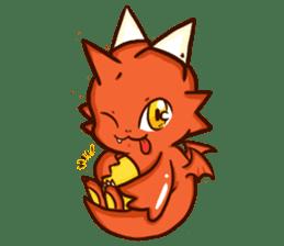 Neryu Dragon-cat sticker #4413159