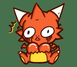 Neryu Dragon-cat sticker #4413163