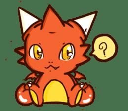 Neryu Dragon-cat sticker #4413164