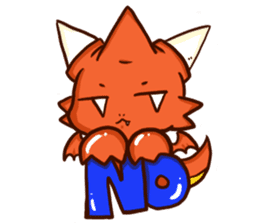 Neryu Dragon-cat sticker #4413170