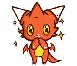 Neryu Dragon-cat sticker #4413172