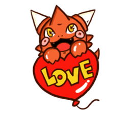 Neryu Dragon-cat sticker #4413174