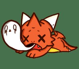 Neryu Dragon-cat sticker #4413175
