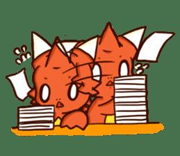Neryu Dragon-cat sticker #4413176
