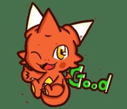 Neryu Dragon-cat sticker #4413178