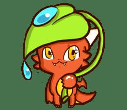 Neryu Dragon-cat sticker #4413179