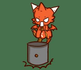 Neryu Dragon-cat sticker #4413182