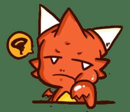 Neryu Dragon-cat sticker #4413184