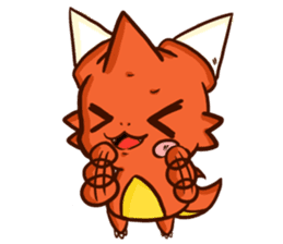 Neryu Dragon-cat sticker #4413185