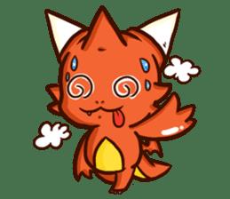 Neryu Dragon-cat sticker #4413187