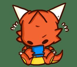 Neryu Dragon-cat sticker #4413188