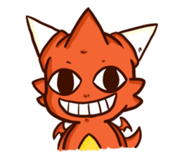 Neryu Dragon-cat sticker #4413189