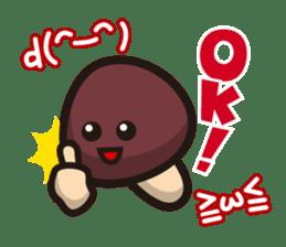 Simeji mushroom sticker #4413352