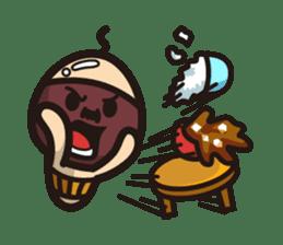 Simeji mushroom sticker #4413376