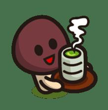 Simeji mushroom sticker #4413390