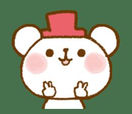 Mini bear friends sticker #4413993