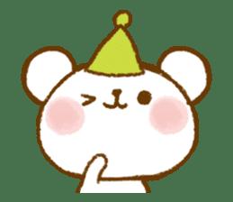 Mini bear friends sticker #4413994