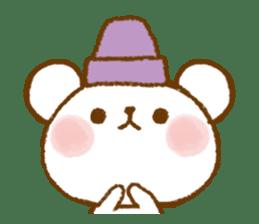 Mini bear friends sticker #4413995