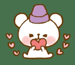 Mini bear friends sticker #4413997