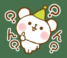 Mini bear friends sticker #4414009