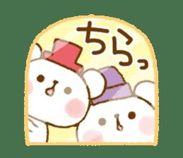 Mini bear friends sticker #4414015