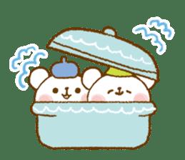 Mini bear friends sticker #4414019
