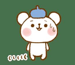 Mini bear friends sticker #4414020
