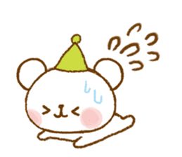 Mini bear friends sticker #4414023