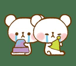 Mini bear friends sticker #4414024
