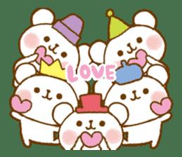 Mini bear friends sticker #4414028