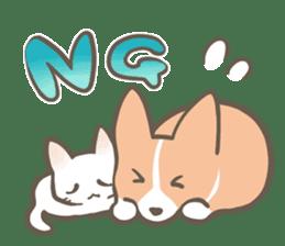 Shiro & Momo sticker #4414433