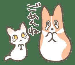 Shiro & Momo sticker #4414435