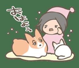 Shiro & Momo sticker #4414438