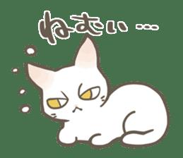 Shiro & Momo sticker #4414439