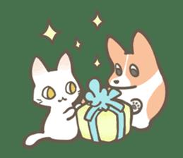 Shiro & Momo sticker #4414443