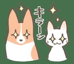 Shiro & Momo sticker #4414447