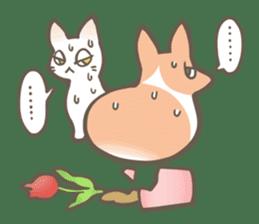 Shiro & Momo sticker #4414451