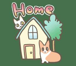 Shiro & Momo sticker #4414455