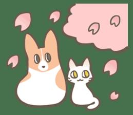 Shiro & Momo sticker #4414463