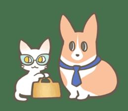 Shiro & Momo sticker #4414464