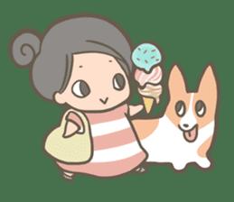 Shiro & Momo sticker #4414466