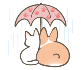 Shiro & Momo sticker #4414467